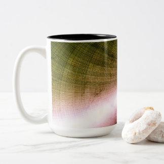 Fun Digital Art Blank Two-Tone Coffee Mug