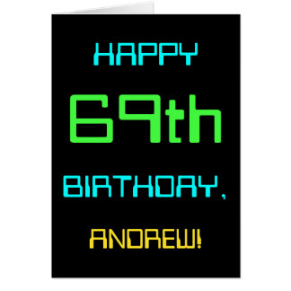 Fun Digital Computing Themed 69th Birthday Card