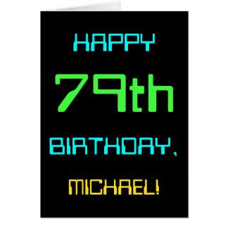 Fun Digital Computing Themed 79th Birthday Card
