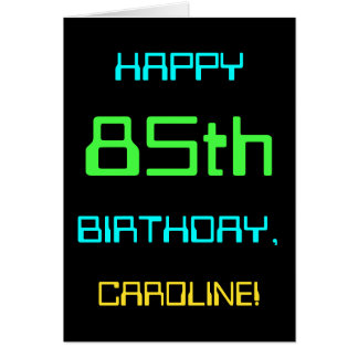 Fun Digital Computing Themed 85th Birthday Card