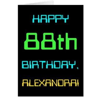 Fun Digital Computing Themed 88th Birthday Card