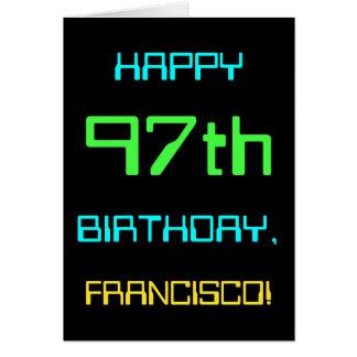 Fun Digital Computing Themed 97th Birthday Card