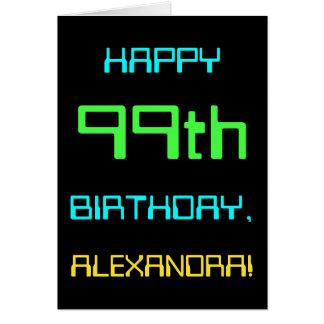 Fun Digital Computing Themed 99th Birthday Card