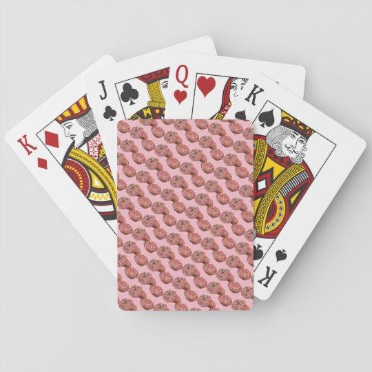 Fun Doughnut Playing Cards Pink Sprinkles