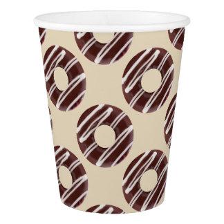 Fun Doughnuts Design Pattern Paper Cup