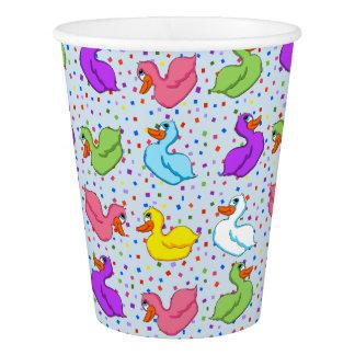 Fun Ducks Paper Cups (No Banner)