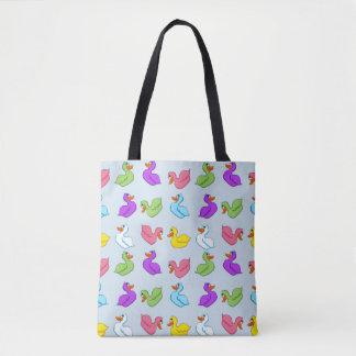 Fun Ducks Tote Bag