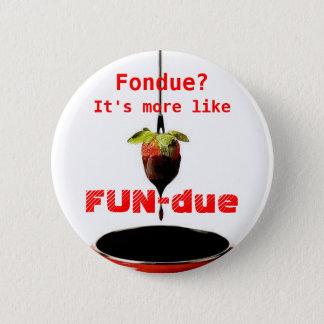 FUN-due 2 Inch Round Button
