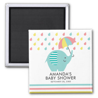 Fun elephant Baby Shower Favor  Magnet