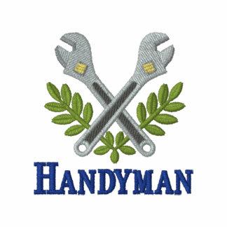 Fun Embroidered Handyman Polo Shirt