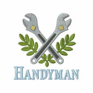 Fun Embroidered Handyman T-shirt Embroidered Shirt