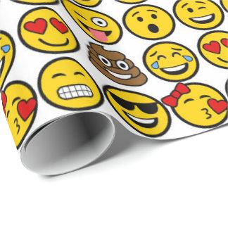 Fun Emoji Pattern Emotion Faces