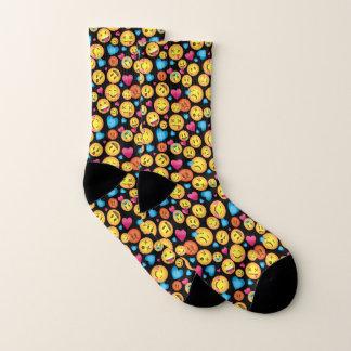 Fun Emoji Print Socks 1