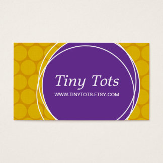 Fun Etsy Business Card