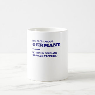 Fun facts about Germany, no fun in germany Mug