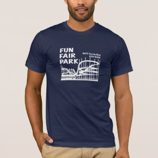 Fun Fair Park in your choice of dark color T-Shirt