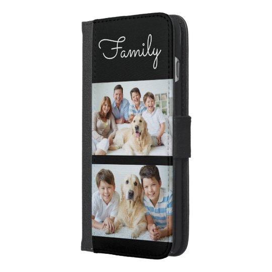 Fun Family Photos iPhone 6/6s Plus Wallet Case