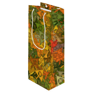 fun,fantasy and joy 3 wine gift bag