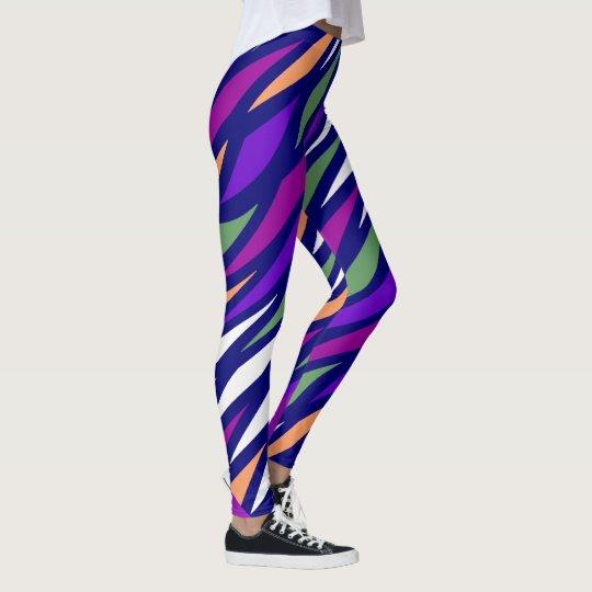 Fun Fashion Leggings-Women-Multicolored Leggings