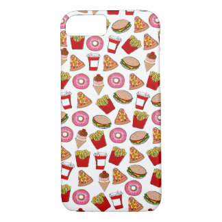 Fun fast food patterned iPhone 8/7 case
