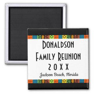 Fun Festive Family Reunion Keepsake Souvenir Gift Magnet