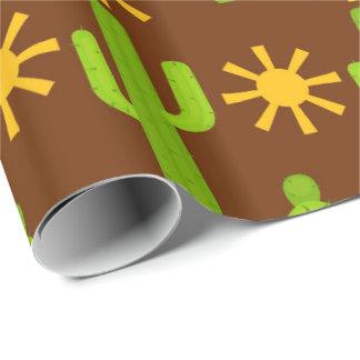 Fun Fiesta cactus pattern party wrap