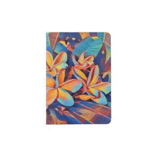 Fun-filled frangipani passport holder