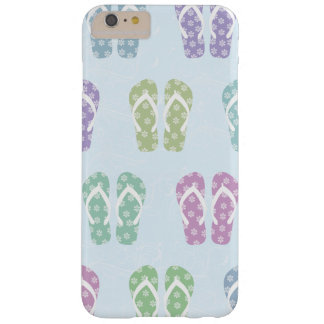 Fun Flip Flop Pattern Barely There iPhone 6 Plus Case