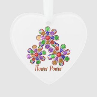 Fun Flower Power Ornament