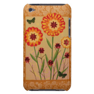 Fun Flowers & Butterflies iPod Case Barely There iPod Cover