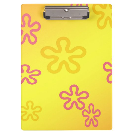 Fun Flowers Clipboard