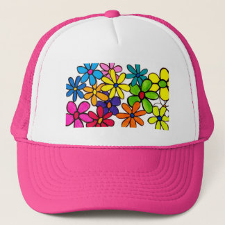 fun flowers hat