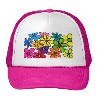 fun flowers hat