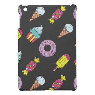 Fun Food Pattern iPad Mini Covers
