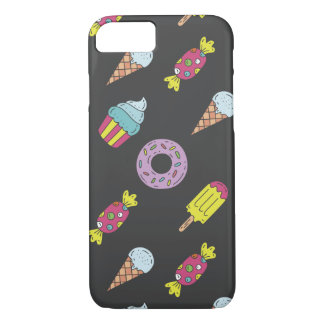 Fun Food Pattern iPhone 8/7 Case