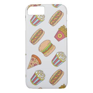 Fun Food Pattern iPhone 8/7 Case
