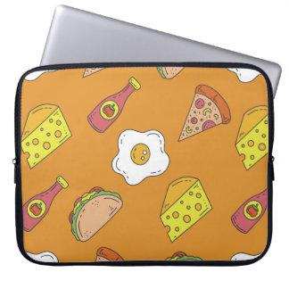 Fun Food Pattern Laptop Computer Sleeves