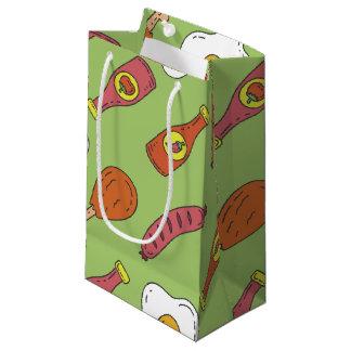 Fun Food Pattern Small Gift Bag