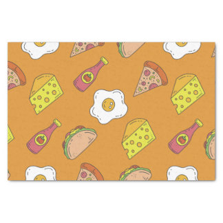 Fun Food Pattern Tissue Paper