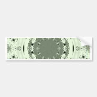 Fun Fractal Blank Background Bumper Sticker