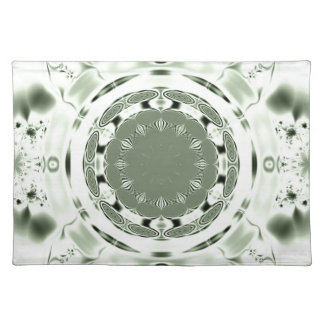 Fun Fractal Blank Background Placemat
