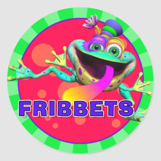 Fun Fribbets Stickers
