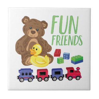 Fun Friends Ceramic Tile