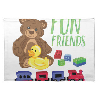 Fun Friends Place Mat