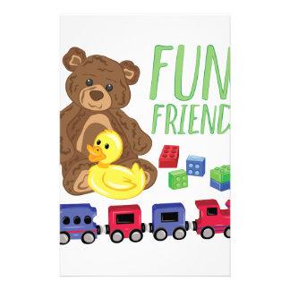 Fun Friends Stationery