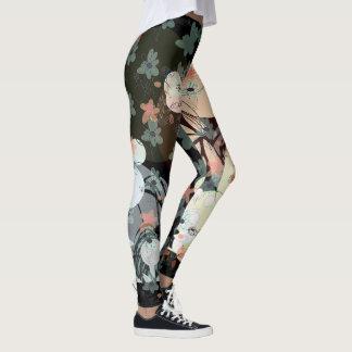 Fun Funky Floral Leggings