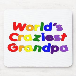 Fun Funny Grandfathers : World's Craziest Grandpa Mouse Pads