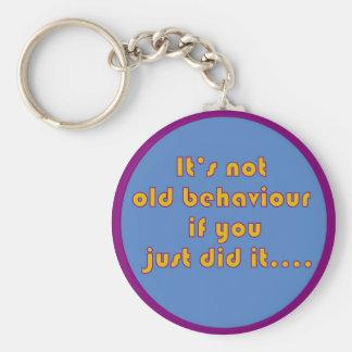 fun funny recovery saying key chain