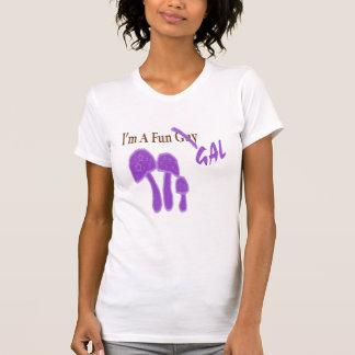 Fun Gal Purple copy T-shirts