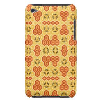 Fun Geometric Orange and Yellow iPod Touch Cover